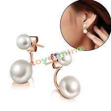 jacket earrings pearl earring jackets ebay