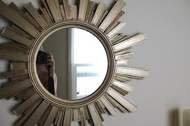 shiny unique mirrors design with reinvents classic sunburst