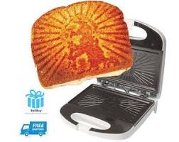 Toaster Press The Grilled Cheesus Sandwich Press Toaster Jesus Non Stick Plate