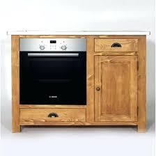 element bas de cuisine plaque deco cuisine retro element bas de cuisine en pin pour four