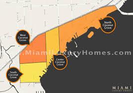 Miami Neighborhood Map by 2016 Coconut Grove Real Estate Statistics Miami Luxury Homes Blog
