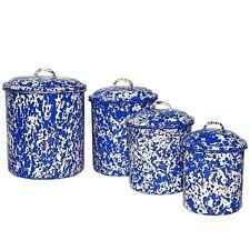 collectible metal kitchen canisters ebay