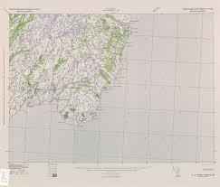 Newfoundland Map Newfoundland Avalon Peninsula Ams Topographic Maps Perry