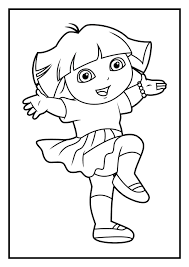 dora mermaid coloring page feed