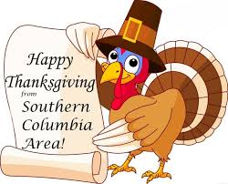 happy thanksgiving southern columbia area school district