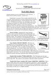 7328 tech info sheets fax sensor