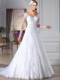 Wedding Dresses For Sale Turmec Long Sleeve Lace Wedding Dresses For Sale