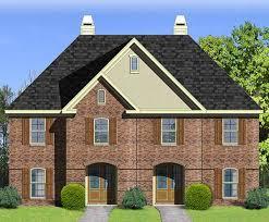townhouse design comfy 2 unit townhouse design 83127dc architectural designs