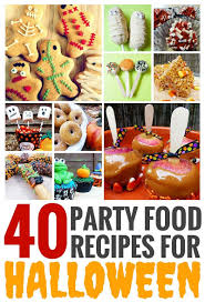 40 party food recipes for halloween