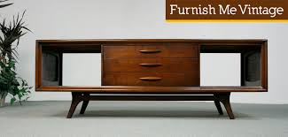 Entertainment Center Credenza Midcentury Consoles Mid Century Modern Emphasis Entertainment