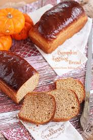 pumpkin eggnog bread recipe