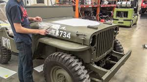 willys jeep restoration short time lapse no music youtube
