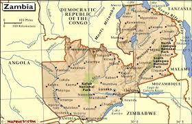 map of zambia zambia baptist