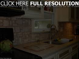 kitchen stone backsplash home decoration ideas