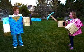 Minecraft Halloween Costumes Maydae Minecraft U0026 Brave Halloween Costumes