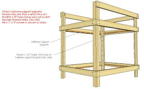 Bunk Bed Plans Pdf Size Bunk Bed Plans How To Build A Wooden Saddle Rack Diy