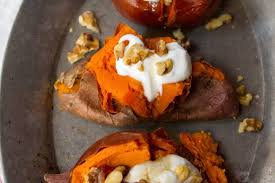 How To Cook A Sweet Potato In The Toaster Oven Baked Sweet Potato Recipe How To Bake Sweet Potatoes Kitchn