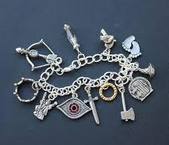ring charm bracelet images Fantasy characters charm bracelet elf dwarf wizard king magic jpg