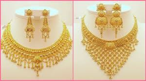 necklace golden images Pure 22k gold necklace designs images 2017 jpg