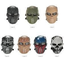 halloween snake mask popular airsoft full face mask buy cheap airsoft full face mask