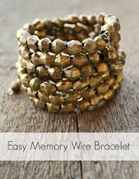 beads wire bracelet images Easy memory wire bracelet jpg
