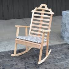 Unfinished Wood Rocking Chair Unfinished Rocking Chairs On Hayneedle Unfinished Outdoor