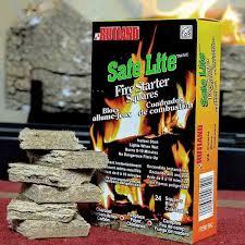 safe lite fire starters 24 squares northline express
