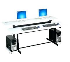 Desk For Dual Monitor Setup Computer Desk Dual Monitor Full Image For Good Computer Desk For