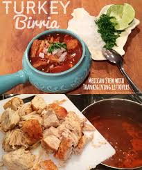 turkey birria with thanksgiving leftovers gublife