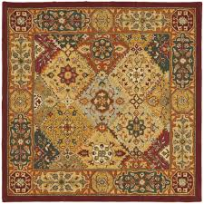 Modern Square Rugs by Decorating Wonderful Red Square Rugs 7x7 For Modern Living Room