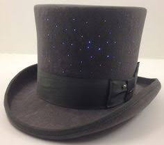 so in with this custom led light up top hat for burning