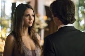 damon and elena proposal scene in the vampire diaries finale