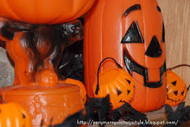 very merry vintage syle cute u0026 spooky vintage halloween mantel