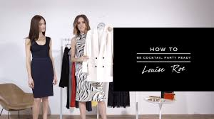 how to be cocktail party ready reiss youtube