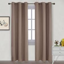 Curtains For Drafty Windows Khaki Curtains Amazon Com