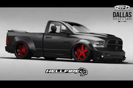 jeep hellcat truck get ready for hellfire dallas speed shop u0027s sema ram truck