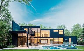 modern green house modern glass house in ontario adorable home