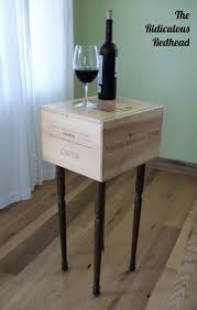 27 best wine crate furniture images on pinterest wine crates