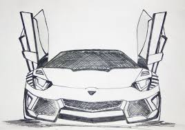 lamborghini sketch lamborghini aventador drawing pen sketch youtube