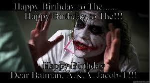 Batman Happy Birthday Meme - happy birthday batman quickmeme