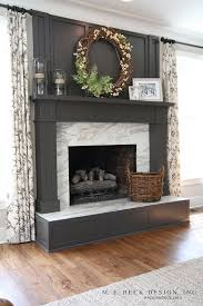 beautiful dark gray u0026 black fireplaces