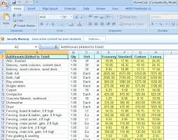 Free Construction Cost Estimate Excel Template Free Cost Estimating Software For Excel Homecost