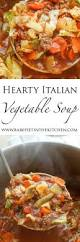 Italian Soup by Hearty Italian Vegetable Beef Soup Barefeetinthekitchen Com