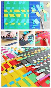 art for kids paper weaving paper weaving activities and craft