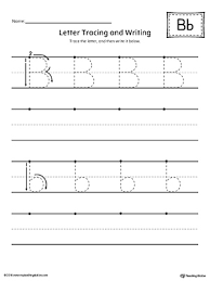 finding and connecting letters letter b worksheet