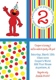 elmo birthday party elmo birthday party invitations template best template collection