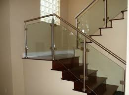 Banister Railing Concept Ideas 40 Stair Railings Of Glass Airy Feel In The Interior Design Of