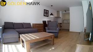 two rooms apartment of 48 m for rent in the center of szczecin