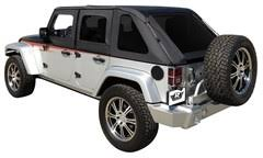 jeep wrangler 4 door top all things jeep frameless sailcloth top with tinted windows