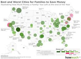 Cheapest Place To Live In Us San Francisco Has The Top Salaries In America U2014 And It May Be The
